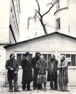 44. 1974 - Türkenstraße - Aramis und Beatrix und die Ratsuchenden