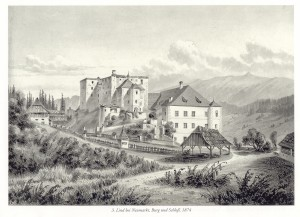 Stich Schloss Lind